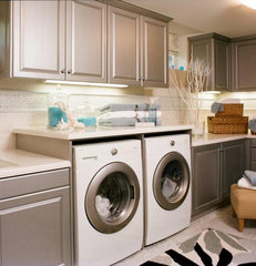 traditional laundry room by Reaume Construction & Design