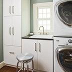 The Go Home Passive House Contemporary Laundry Room