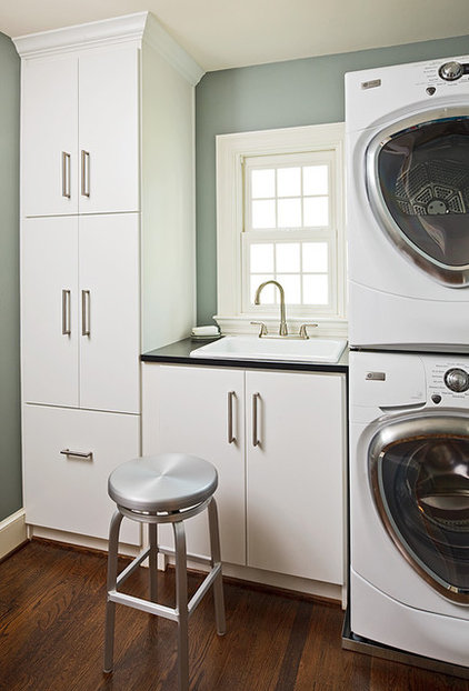 Contemporary Laundry Room by Wentworth, Inc.