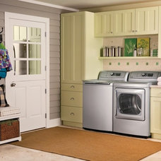 Traditional Laundry Room by Susan Jablon Mosaics