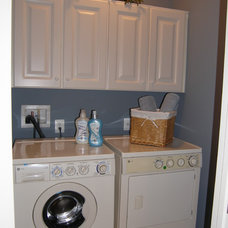 Eclectic Laundry Room by Nancy Auman