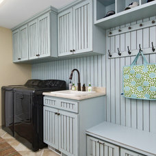Traditional Laundry Room by Designs by Dawn at the Lake Street Design Studio