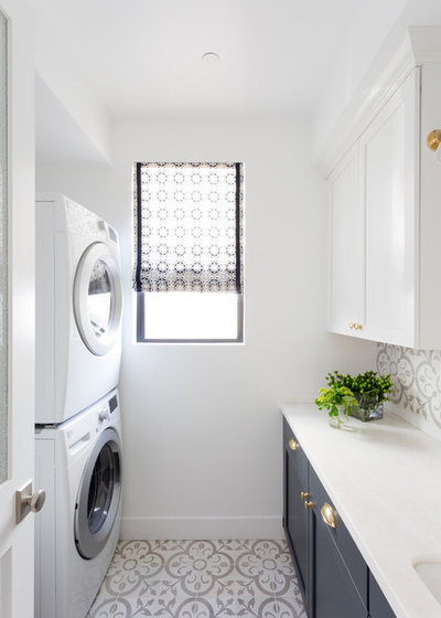Beach Style Laundry Room by Denton Developments