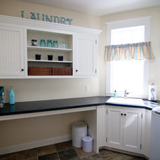 Traditional Laundry Room by Traditional Cabinetry LLC