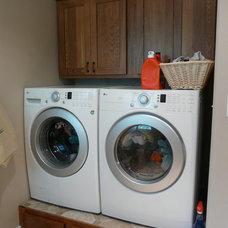 Craftsman Laundry Room by K.L. Design