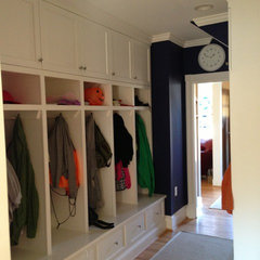 traditional clothes and shoes organizers by Stohlman & Kilner Remodeling Contractors