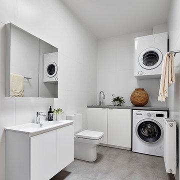 Laundry Bathroom