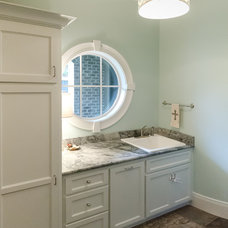Traditional Laundry Room by Matheny Goldmon Architects