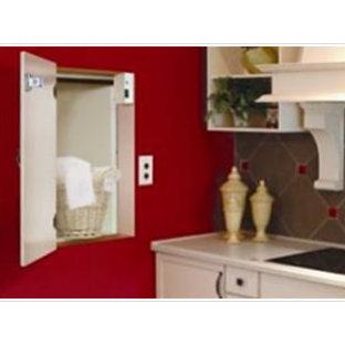 Laundry room - contemporary laundry room idea in Austin