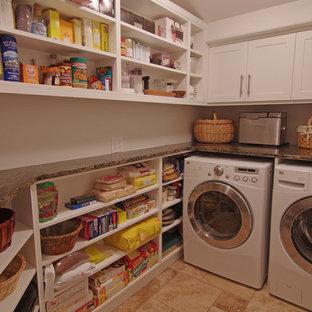 Immagine di una lavanderia bohémian