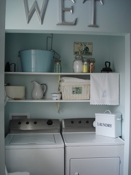 Eclectic Laundry Room by Restyled Home