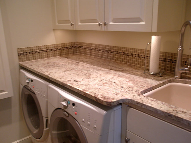 Traditional Laundry Room by Nancy Evans, Allied ASID