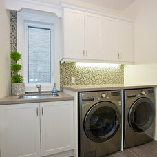 Traditional Laundry Room by Manorwood Fine Cabinetry