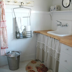 eclectic laundry room by Home & Harmony