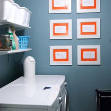 Modern Laundry Room Rita Mireles