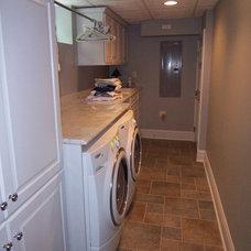 Traditional Laundry Room by Thomas Patrick Walls Company