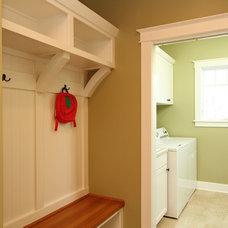 Traditional Laundry Room by The Ehrmin Company
