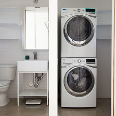 Contemporary Laundry Room by D-CRAIN