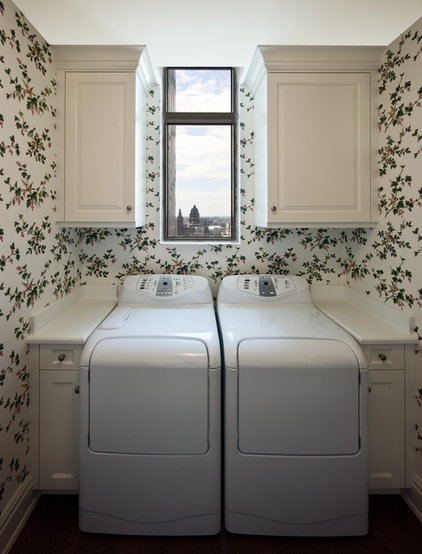 Modern Laundry Room by Robert J Erdmann Design, LLC