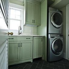 Contemporary Laundry Room by Monetti Custom Homes