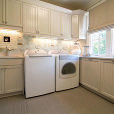 Traditional Laundry Room by MODA FLOORS AND INTERIORS