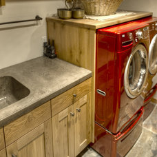 Rustic Laundry Room by Roland's Joinery Ltd.