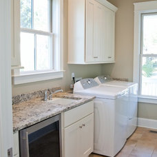 Traditional Laundry Room by Artistic Design and Construction, Inc