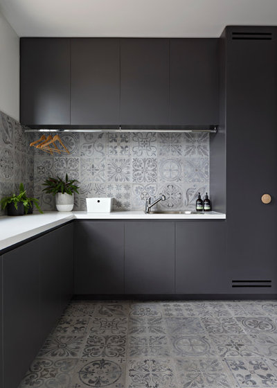 Contemporary Laundry Room by Inbetween Architecture