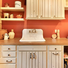 Traditional Laundry Room by Kitchen Choreography