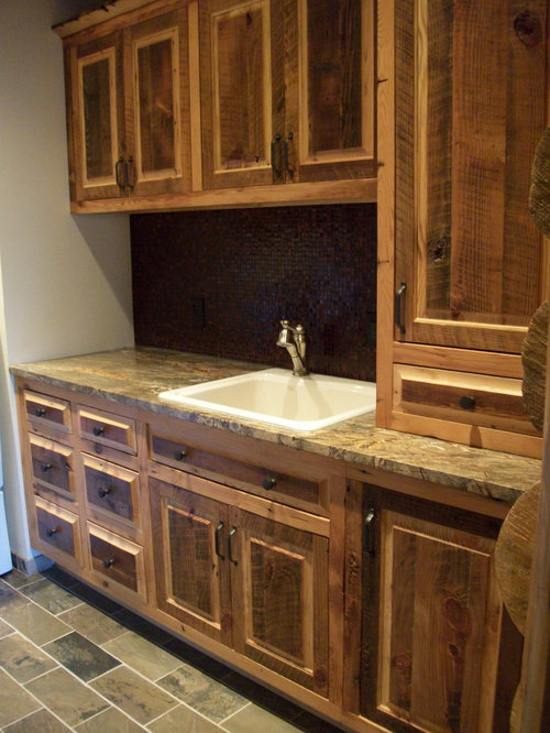 20 Rustic Laundry Room with Beaded Inset Cabinets Design ...