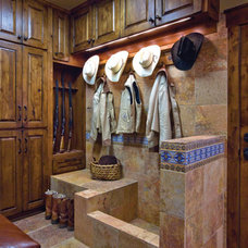 Traditional Laundry Room by RusticSinks