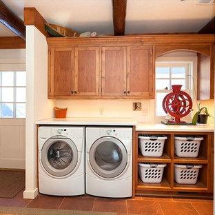 Rustic Laundry Room