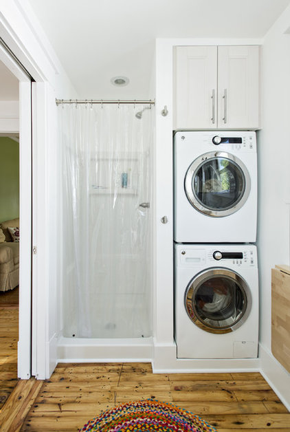 Traditional Laundry Room by Rock Paper Hammer