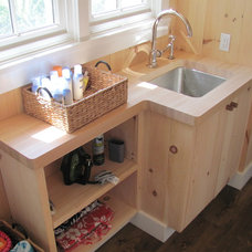 Farmhouse Laundry Room by New England Wood Works