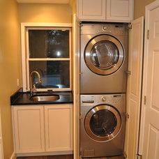 Traditional Laundry Room by Higgins Custom Builders Inc