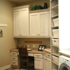 Traditional Laundry Room by Joe Carrick Design - Custom Home Design