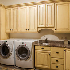 Traditional Laundry Room by Markay Johnson Construction