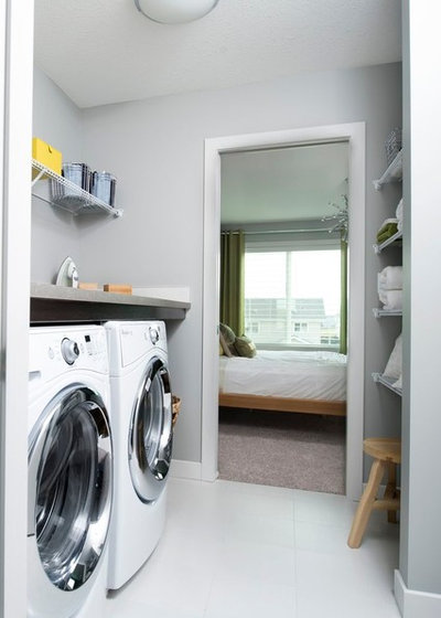 Modern Utility Room by Wise Home + Design
