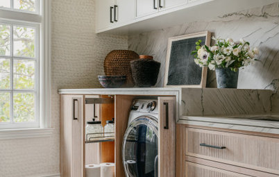 New This Week: 5 Stylish Laundry Rooms With Great Storage Ideas