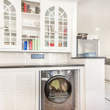Traditional Laundry Room by Studio S Squared Architecture, Inc.