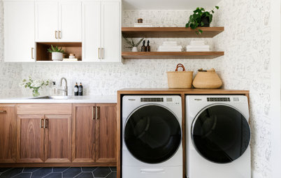9 Practical Ideas From Summer 2020's Most Popular Laundry Rooms