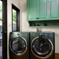 Mediterranean Laundry Room by Chelsea Construction Corporation