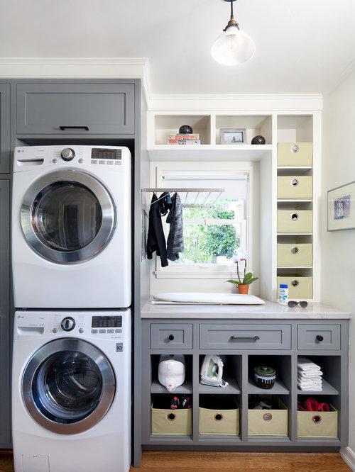 Small Bathroom Laundry Room Combo Houzz