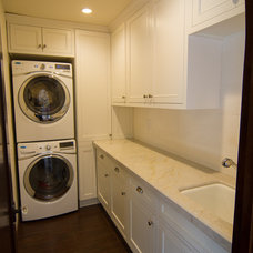 Traditional Laundry Room by Tesserae Interior Design