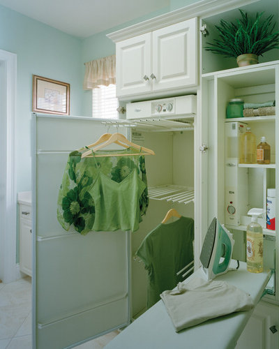 Traditional Laundry Room by Sater Design Collection, Inc.