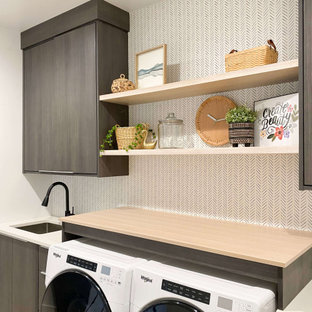 Danish laundry room photo in Other