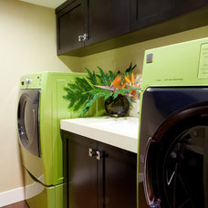 Contemporary Laundry Room by Marrokal Design & Remodeling