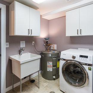 75 Beautiful Small Laundry Room With An Utility Sink Pictures Ideas December 2020 Houzz