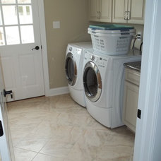 Traditional Laundry Room by Seashore Floors