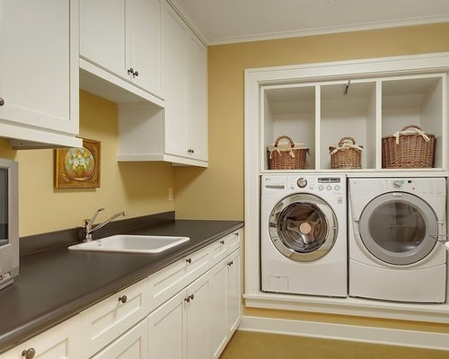 built in washer and dryer home design ideas pictures. Black Bedroom Furniture Sets. Home Design Ideas